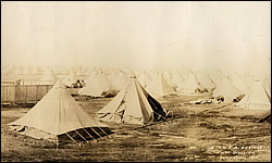 116th Engineers at Camp Mills, Long Island, New York