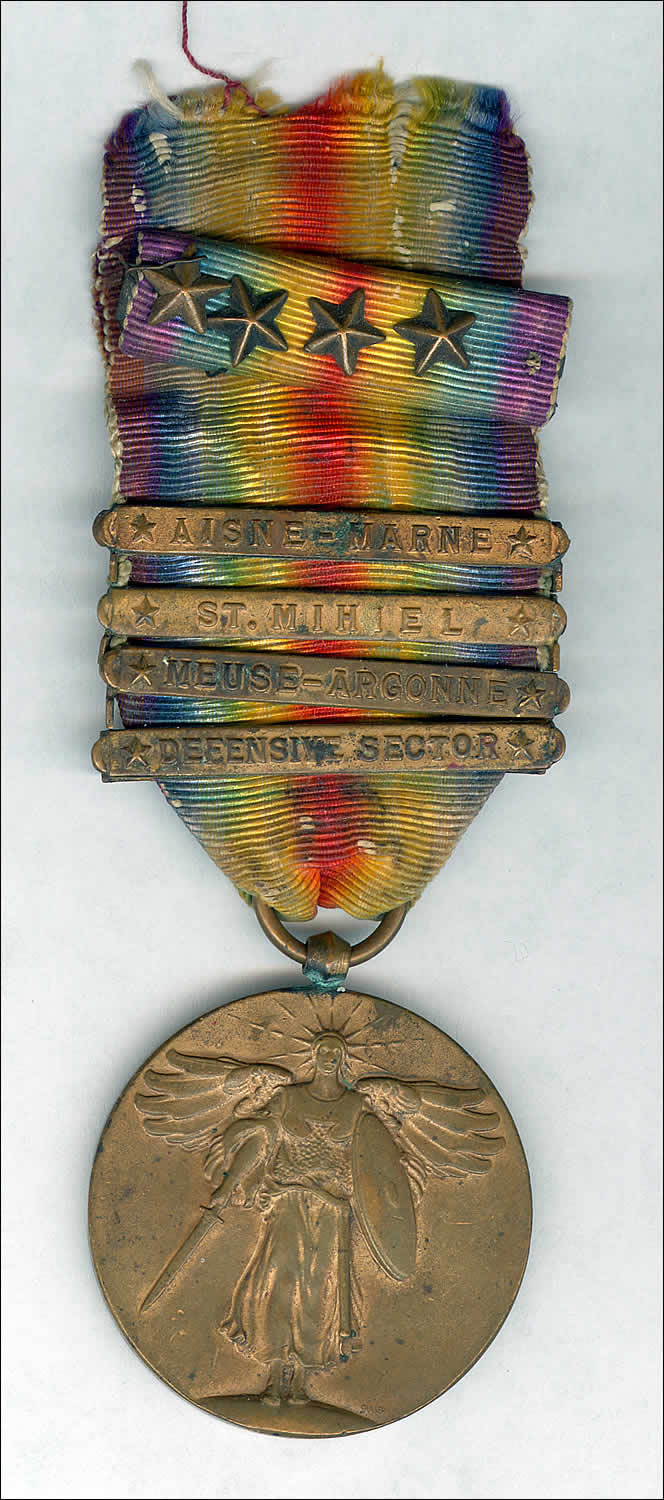 2nd Division Victory Medal 1919