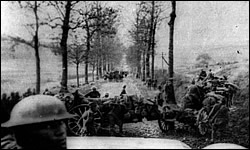 17th Field Artillery Getting into Position on Meuse-Argonne Drive