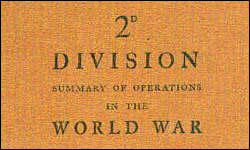 2d Division, Summary Of Operations