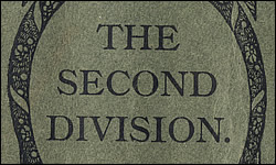 The Second Division; Syllabi
