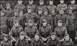 E Battery Officers of 15th Field Artillery
