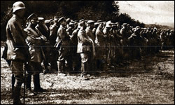 German prisoners near Soissons.