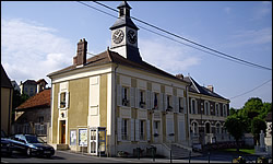 The Mairie (town hall), Montreuil-aux-Lions