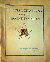 Official Citations Of The Second Division