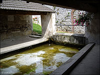 Underground spring at Lucy le Bocage, France