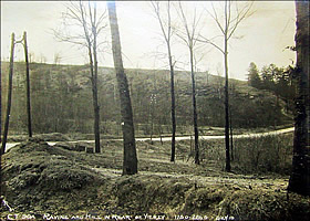 Ravine and Hill in Rear of Vierzy 2/27/1919