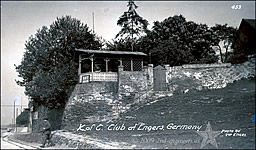 Knights of Columbus Garden at Engers, Germany 1919