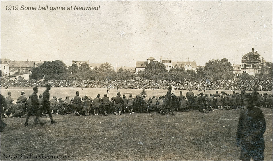 General McIndoe Field at Neuwied, Germany
