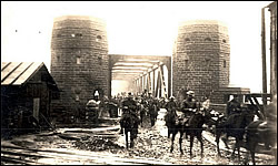 December 13, 1918 East end of Remagen Bridge.