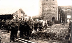 December 11, 1918 East end of Remagen Bridge.