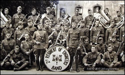 Portrait of 2nd Engineers Band